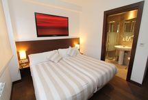 Habitación MONTE URGULL / Habitación Doble Exterior con baño. Posibilidad de uso como habitación individual. Camas FLEX Multielastic.