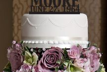 Laser Cut Cake Toppers / Personalized Wedding Cake Topper