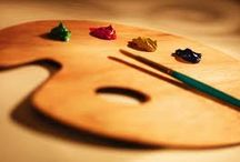 Arte no papel / Arte e cores