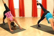 Pilates and workout / Hyväksi havaittuja ja kokeilemisen arvoisia pilates-liikkeitä tai -treenejä