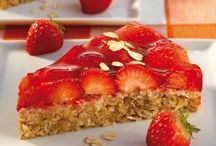 Haferflocken - Erdbeer - Kuchen
