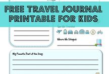 Travel journal kids