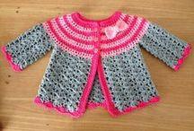Babykleding breien en haken.