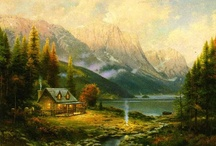 "Thomas Kinkade ""Painter of Light"""