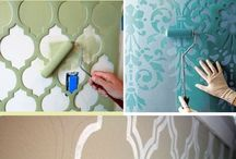 texturas e feitos de parede