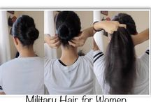 military hairstyles