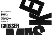 Emil Ruder / Emil Ruder was a typographer and graphic designer who, born in Switzerland in 1914, helped Armin Hofmann form the Basel School of Design and establish the style of design known as Swiss Design. He taught that, above all, typography's purpose was to communicate ideas through writing