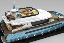 NISI X50 Power Catamaran / European luxury yacht builder NISI introduces their first model in the high-performance GTX XPRESSO multihull series—the X50.