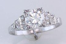 Eljegyzési gyűrűk / Lehetséges eljegyzési gyűrű fajták amik tetszenek, főleg antik stílusban.