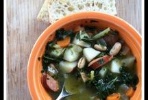 The Eatery - Soup / A delicious collection of soup recipes.   / by Kate Eschbach-Songs Kate Sang)