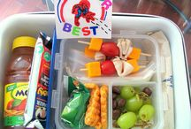 Nenas lunch ideas / Kids lunch ideas  / by Erika Reyna