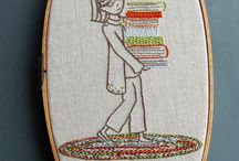 Embroidery cuteness / by Patti Smith