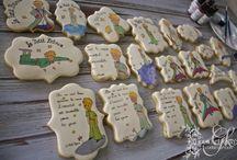 Le petite prince / Le petite prince hand painted cookies