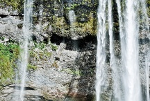 Beautiful places:  waterfalls / Landscapes with waterfalls / by Allison Royalty