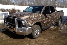 Just what country girls like  camo, boots , mud ,and big lifted trucks / by Johnna Stout Fulkerson