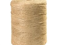 Jute Twine / 3-Ply, 4-Ply & 5-Ply • 84 lbs., 110 lbs & 140 lbs. Tensile Strength • General purpose for wrapping parcels, kitchen/garden use. • 100% Biodegradable • Natural fiber tying twine