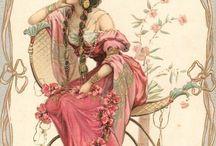 romantic female figures