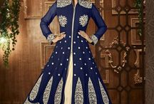 Heavy Embroidered Semi-Stitched Salwar Suit