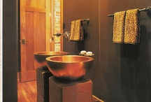 Sleek Bathrooms / Why not bring the luxurious spa home with you? Retreat to a calm and beautiful bathroom.