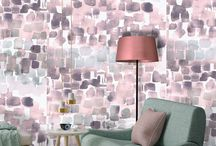 Watercolour wallpaper / Our watercolour wallpaper range and other painted designs we love!