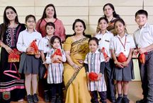 Rejoicing a Brightening Diwali with the Chairperson / It was certainly an extraordinary moment to witness the festive Diwali celebration of Presidians with their honourable chairperson, Mrs. Sudha Gupta. They wished her a very happy Diwali with an unmatched fervour & were thrilled to get her attention & blessings on this propitious day. Mrs. Gupta talked about the importance of illuminating our souls to fight the darkness within & also encouraged the young leaders to say no to crackers.
