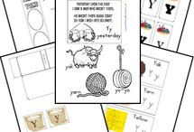Alphabet Letter Y / Activities for alphabet letter Y in preschool