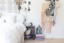 Our boho boudoir