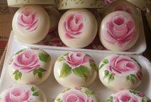 Sabonete decorado