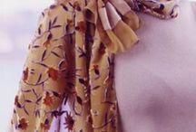 Tying scarves