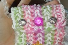 Rainbow Loom Rubber Band Bags / Rainbow Loom Rubber Band Bags