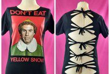 Christmas shirts / Christmas shredded shirts