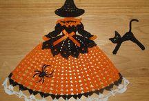 napperon poupée crochet