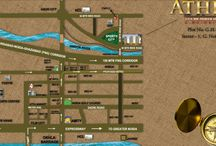Capital Athena noida extension location map