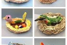 birds / Ceramic