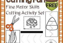 fine motor skills / by Dawn Coppolo