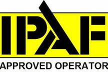 IPAF Approved Operator / Training Course: IPAF (Dual) Mobile Vertical (3a) + (3b) Mobile Boom - Operator - Passed on 30th March 2015 / by Surrey Banners and Signs