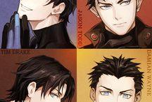 Anime robins