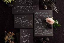 Wedding Color Schemes/Decor