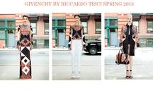 GIVENCHY BY RICCARDO TISCI SPRING 2013