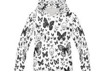 Ladies Allover Print Pullover Hoodies, Keeping you warm / Looking to keep warm and look good? These hoodies are the perfect thing to help you out  hoodie, hoodies, ladies hoodies, ladies fashion, style, keeping warm, dress warm, winter fashion, dress to impress, hoodies for women, hoodie outfit