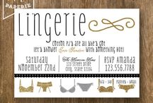 Tiff's Lingerie Shower / by Mrs. Whipstitch