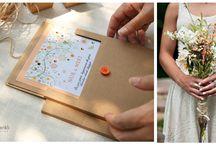 Naturel Davetiye / Doğal renk tonları ve malzeme detayları ile özel olarak tasarlanmış naturel davetiyeler...