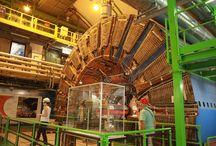 CERN, GENEVA / Switzerland / Geneva Switzerland, CERN - LHCb Cern ;) 90 m underground. Old particle Collector. ..uff one hell of machine !!