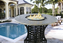 Bar Height Fire Pits
