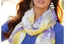 Šátky/scarfs / #fashion