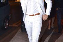 white & white outfits