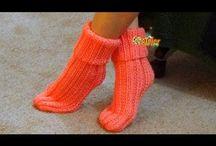 Como tejer pantuflas
