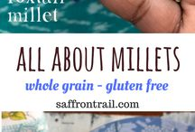 Interesting Millet Recipes / Millets are an excellent source of fiber and have a lower glycemic index than other grains. Bookmark this board for healthy and delicious millet based Indian and Global recipes.