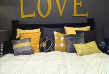 bedroom redo / by Megan Schleicher