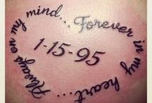 Tattoo in memory of mum